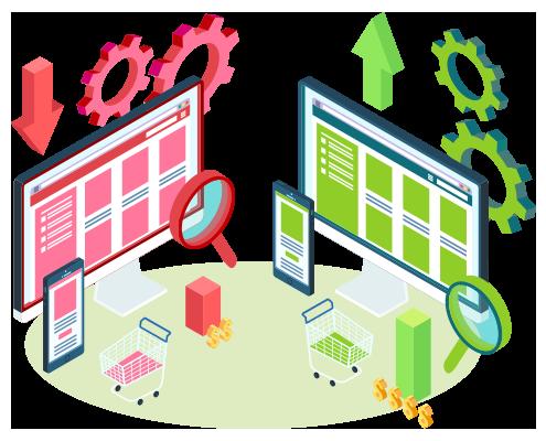 پکیج جامع دیجیتال مارکتینگ تخصصی نوکارتو - بهینه سازی نرخ تبدیل (CRO)