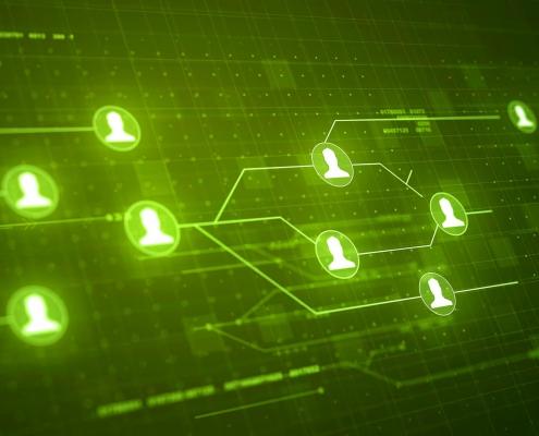 شبکه اجتماعی و انواع مدل های آن نوکارتو