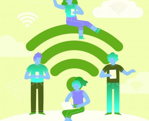 اینترنت یک ابزار ارتباطی مهم نوکارتو
