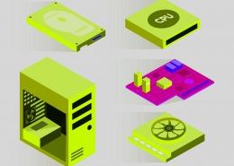 حافظه اصلی در دستگاه های کامپیوتری نوکارتو